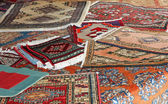 Textures and background of handmade carpets and rugs — Стоковое фото