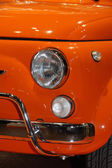 Headlight of a famous Italian machine very much sought after by — Foto Stock