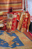 Shop elegant Oriental rugs on sale for elite clients — Stock Photo