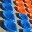 Seat to sit and attend races and football matches at stadium — Stock Photo #25779821