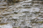 Visible layers of rock in a quarry mineral extraction — Stock Photo