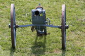 Original WWI Cannon ready to be used during an event — Stock Photo