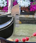 Tip slavný romantický lodní gondole v benátkách 2 — Stock fotografie