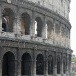 Flavian Amphitheatre Called the COLOSSEUM the symbol of Italy in — Stock Photo