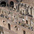Stock Photo: Colosseum architectural symbol of power of ancient Rome 2