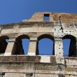 Detail of an ancient Arch of the Colosseum — Stock Photo #30580315