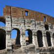 Fascinating and spectacular facade of Colosseum — Stock Photo #30580335