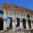 Stock Photo: Fascinating and spectacular facade of Colosseum