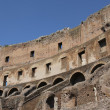 Spectacular interior of the Colosseum ancient Roman amphitheatre — Stock Photo