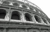 Fascinating facade of the most beautiful monument of Rome Coloss — Stock Photo