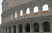 Ancient Flavian Amphitheatre Called the COLOSSEUM the symbol of — Stock Photo