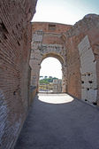 Inside the Colosseum of Rome — Stock Photo