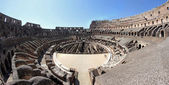 Suggestive steps inside the Colosseum — Stock Photo