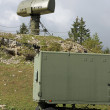 Military radar to search for enemy vehicles — Stockfoto