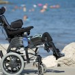 Stock Photo: Wheelchair for disabled people