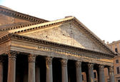 Roman temple called the PANTHEON in Rome — Stock Photo