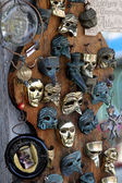 Beautiful original Venetian masks handmade — Stock Photo