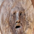 Mask called mouth of Truth in Rome italy — Stock Photo