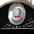Stock Photo: Carabinieri barracks with star symbol of italy