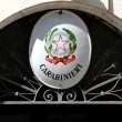 Carabinieri barracks with star symbol of italy — Stock Photo #32132861