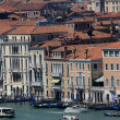 Historical palaces of the Republic of Venice on the Grand canal — Stock Photo
