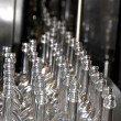 Technology bottling plant for glass bottles 2 — 图库照片