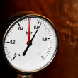Accurate pressure gauge for measuring pressure — Stock Photo #32797483