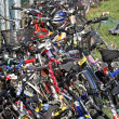 Bicycles bicycles bicycles — Stock Photo