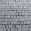 Paving with cobblestones in the Vatican — Stock Photo