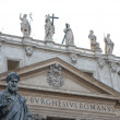 Statue of St. Peter in vatican City — Stock Photo #33433665