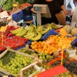 Fruit and vegetable stall — Foto Stock