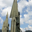 Stock Photo: Powerful military intercontinental missiles ready for launch fro