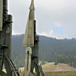 Military intercontinental missiles — Stock Photo