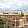 Stock Photo: Panoramof city of Rome seen from Castel SAngelo with th