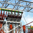 Постер, плакат: Electrical system of a power plant to produce electricity