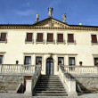 Facade of the famous Venetian Villa Valmarana ai nani in the cit — Stock Photo