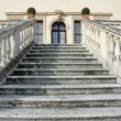 Stock Photo: Stone steps leading to entrance of prestigious ItaliV