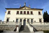 Facade of the famous Venetian Villa Valmarana ai nani in the cit — Stock Photo