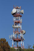 Repeaters antennas for mobile communication — Stock Photo