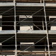 Scaffold building for the construction of buildings — ストック写真