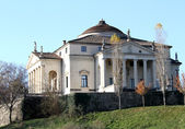Beautiful palladian Villa called La Rotonda in Vicenza in Italy — Stock Photo