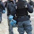 Law enforcement during the protest — Stockfoto