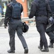 Stock Photo: Helmet, uniform, Bulletproof jacket, cops in riot gear