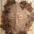 Stock Photo: Africmask used by sorcerers and shamans during ceremonies in