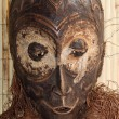 Stock Photo: Wood mask used by sorcerers and shamans during ceremonies in Afr