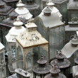 Stok fotoğraf: Retro-style lanterns to furnish home with originality