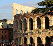 Arena of Verona a Roman building in Italy — Stock Photo