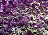Precious purple amethyst mineral very rare — Stock Photo