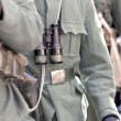 Soldiers  with binoculars during military parade — Stock Photo #41625613