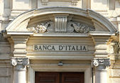 Door of the main entrance of the Bank of Italy 2 — ストック写真